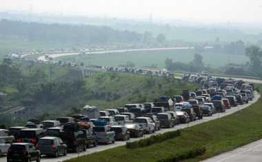 INFO MUDIK: Contra Flow Sukses Atasi Kemacetan dari Brebes hingga Tegal
