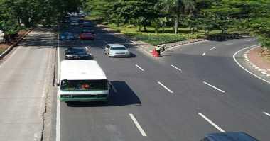 Ibu Kota Ditinggal Mudik, Lalu Lintas Jakarta Lengang