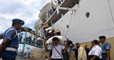 INFO MUDIK: Ribuan Pemudik Tiba di Pelabuhan Makassar