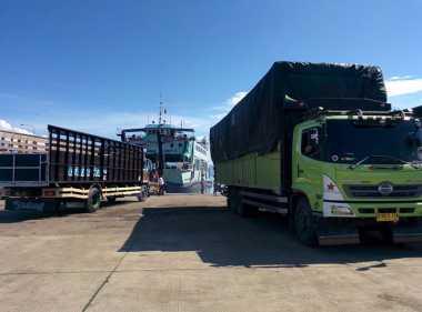 INFO MUDIK: Meski Dilarang, Truk Tetap Beroperasi di Pelabuhan Gilimanuk