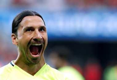 Ibrahimovic Tak Sabar Beraksi Bersama Manchester United