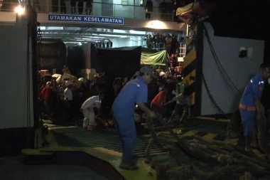 INFO MUDIK: Ratusan Pemudik dari Kalteng Tiba di Pelabuhan Kendal