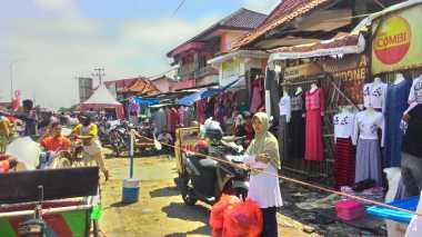 Cara Polisi Agar Pasar Tumpah Tak Ganggu Arus Lalin Mudik