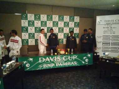 Indonesia Jamu Sri Lanka di Laga Grup II Davis Cup