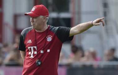 Keakraban Ancelotti dan Pemain Bayern Munich