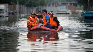 Sepekan Terakhir, Banjir China Tewaskan 154 Penduduk Hubei