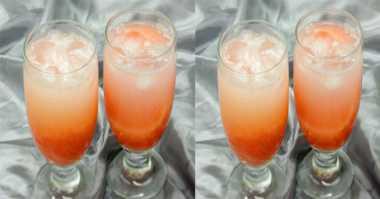 Resep Lengkeng Lime Soda Segar di Tenggorokan