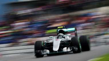 Nico Rosberg Kuasai FP3, Rio Haryanto Belum Tampil Maksimal