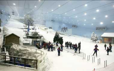 TOP TRAVEL 7: Pegunungan Alpen Ada di Dubai