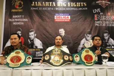 INews TV Total Boxing Jakarta Big Fights Bangkitkan Olahraga Tinju Nasional
