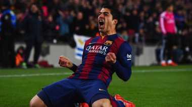 Suarez Tak Khawatir soal Masa Depannya di Barca
