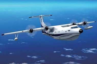 China Luncurkan Pesawat Amfibi Terbesar di Dunia