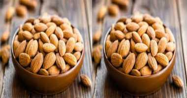Lupakan Viagra, Ngemil Kacang Almond Bantu Dongkrak Gairah Seksual