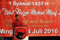 PDIP: Halal bi Halal Lahir dari Bung Karno & KH Wahab Hasbullah