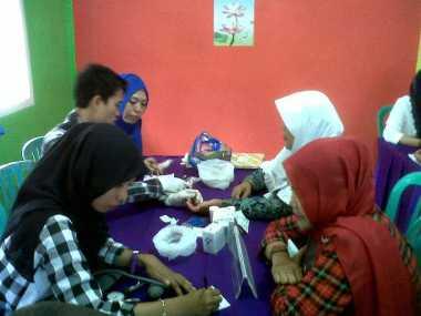 Ratusan Ibu Ikuti Kampanye Lawan Vaksin Palsu di Bengkulu