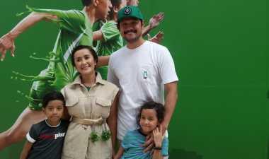Trik Widi 'Be3' Ajarkan sang Anak Berolahraga