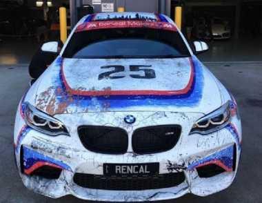Sportcar BMW M2 Menjelma Jadi Mobil Balap Klasik