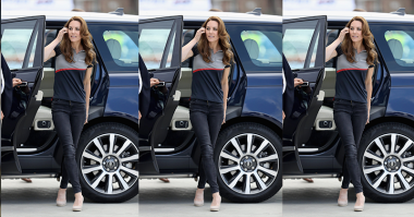 Wah, Ternyata Kate Middleton Bisa Juga Bergaya Sporty