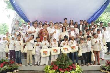 Hary Tanoesoedibjo Motivasi 250 Anak Yatim Membangun Masa Depan