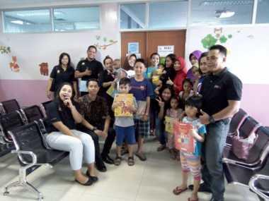 Berbagi Bersama Pasien Rumah Sakit di Hari Anak Nasional