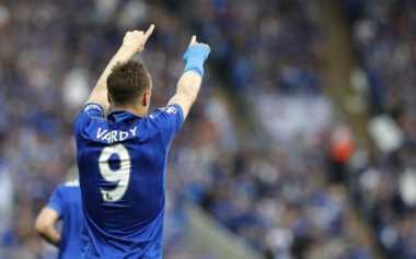 Vardy Bakal Tetap Tajam Bersama Leicester di Musim Depan