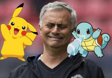 Mourinho Mengharamkan Pokemon Go di Ruang Ganti Man United