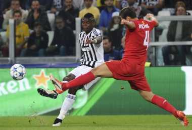 Juventus Tetap Tangguh meski Tidak Diperkuat Paul Pogba