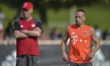 Ribery Bersyukur Guardiola Digantikan Ancelotti