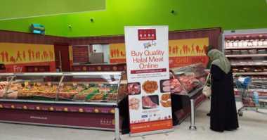 Toko Daging Halal Masuk Supermarket di Inggris