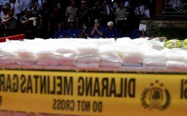 20 Kg Sabu Senilai Rp40 Miliar Dimusnahkan Polda Kaltim