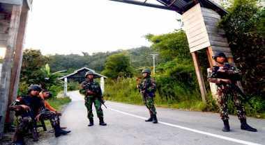 Satgas Tinombala Temukan Senjata Jenis SS2 Milik Santoso