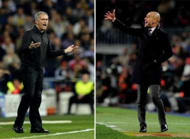 Media China Ramalkan Nasib Guardiola dan Mourinho