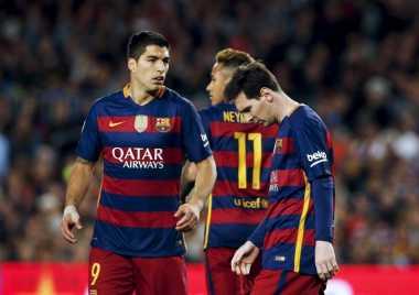 Messi dan Suarez Mendarat dengan Aman di Inggris