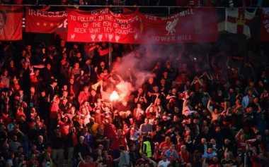 Liverpool Didenda Rp231,7 Juta oleh UEFA