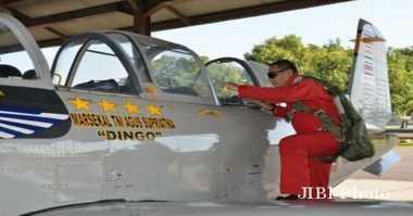 Napak Tilas Hari Bhakti TNI AU, KSAU Terbangkan T-34 Charlie