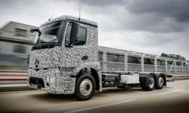 Mercedes Benz Mulai Perkenalkan Truk Bertenaga Listrik Terbarunya