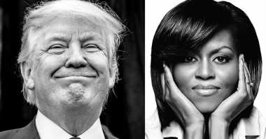 Meski Disindir, Trump Puji Pidato Michelle Obama