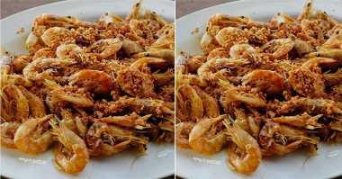 FOTO: Lezatnya Udang Goreng Bawang untuk Makan Siang