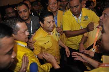 Setya Novanto Bersyukur Kader Golkar Masuk Kabinet Kerja