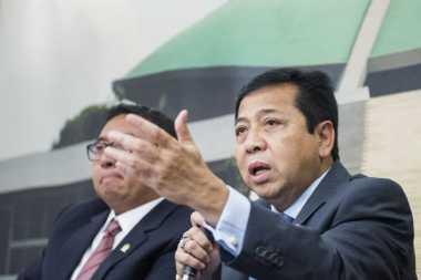 Kader Masuk Kabinet, Setnov Janji Beri Kontribusi Besar kepada Jokowi