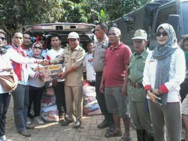 Perindo Salurkan Bantuan & Terjunkan Tim Rescue ke Lokasi Longsor Banten