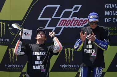 Tak Mudah Berselisih dengan Rossi di MotoGP