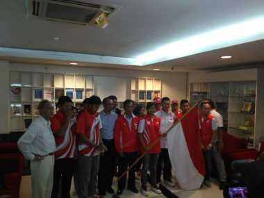 Sprinter Muda Indonesia Senang Bersaing dengan Usain Bolt di Olimpiade Rio 2016