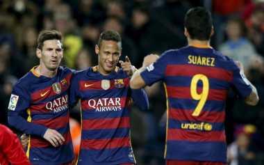 Rivaldo Doakan Trio MSN Agar Terus Sukses Bersama Barca
