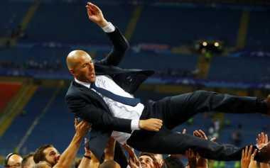 Zidane Puas Bisa Raih Juara saat Jadi Pelatih