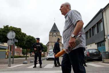 Polisi Prancis Rilis Nama Pelaku Kedua Serangan di Gereja