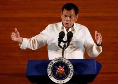 Satu Milisi Dibunuh, Duterte Ajak Pemberontak Berperang