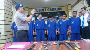 Tujuh Perompak Diringkus Polisi