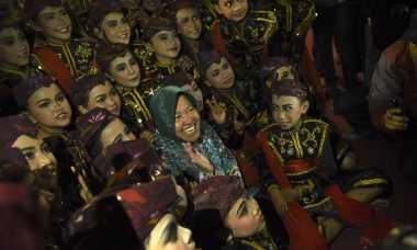 Risma Bersama Delegasi Prepcom3 Resmikan Balai Budaya Cak Markeso