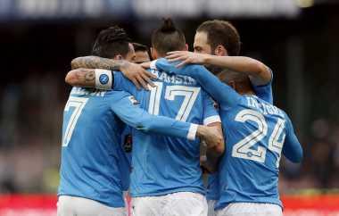 Napoli Bakal Sulitkan Langkah Juventus di San Paolo